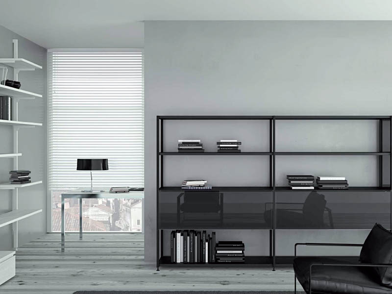 Kali 5. Aluminium profiles to realize freestanding sideboards.
